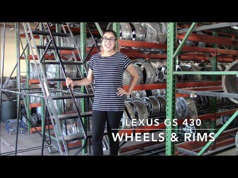 Factory Original Lexus GS 430 Wheels & Lexus GS 430 Rims – OriginalWheels.com