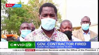 Gov. Contractor fired: CS Munya fires government contractor for failing to fulfill the contract