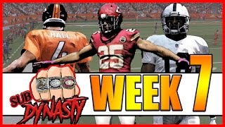 UNBELIEVABLE OVERTIME THRILLER!! - Sub Dynasty Ep.9 | Madden 17 Connected Franchise