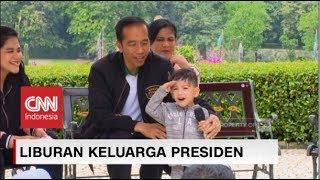 Aksi Kocak Jan Ethes, Cucu Jokowi Memperkenalkan Keluarga Presiden