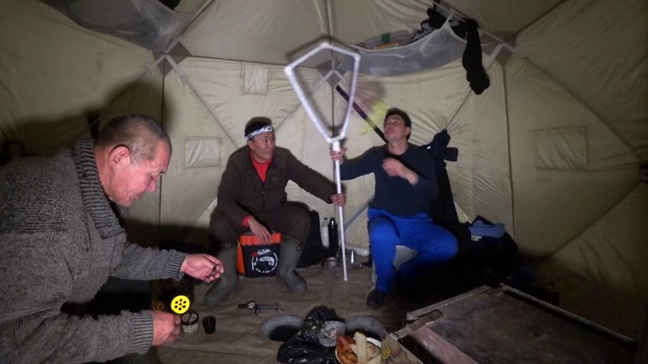 зимняя рыбалка на окуня видео
