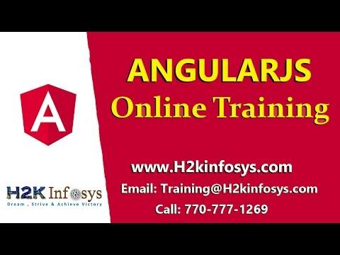 AngularJS Online Training Free Demo Class - YouTube