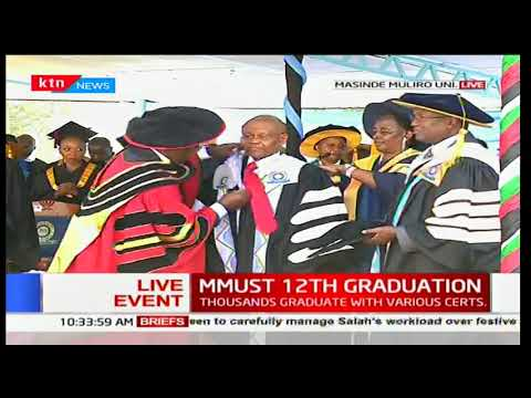 Masinde Muliro University inaugurates new vice chancellor