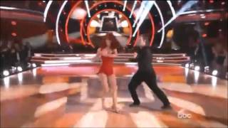 Nick Carter & Sharna - Week 11 - Salsa/Tango Fusion