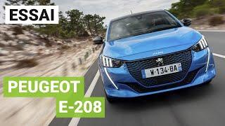 Essai Peugeot e-208 électrique : premier contact !
