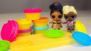 Куклы ЛОЛ и Пластилин Плей До Видео для детей Развивающие мультики для детей LOL Dolls