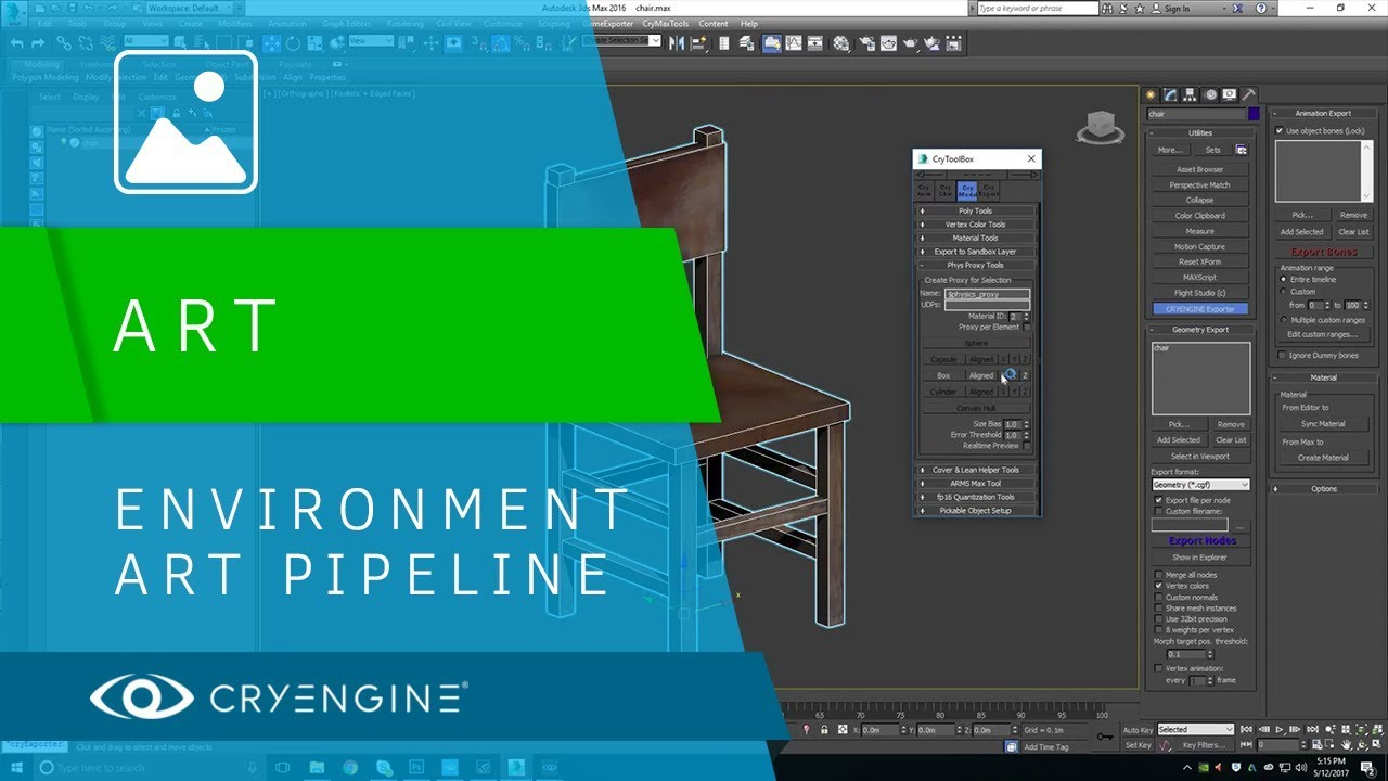 CRYENGINE Environment Art Pipeline Basics