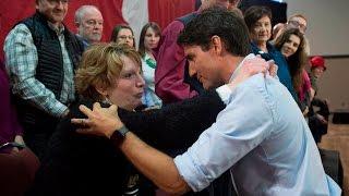 Trudeau gets emotional question about carbon tax