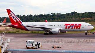 [ HD ] MAO Spotting - Pousos e decolagens em Manaus SBEG