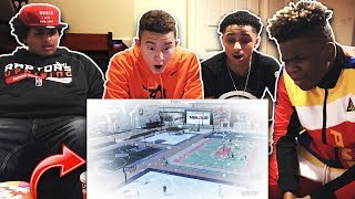 2K YOUTUBERS REACT TO *NEW* SNOW PARK IN NBA 2K19!! New York Vlog! w/ Agent 00, ImDavisss, & More!