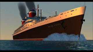 WATCH: SS United States Dazzles in Virtual Sailor Animated Video