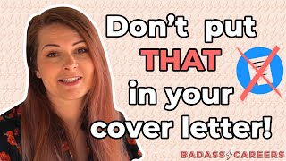 MAJOR COVER LETTER MISTAKES 2020 - Avoid Common Cover Letter Mistakes That Cost You The Interview ⚡