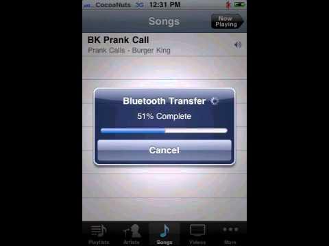 Celeste iOS App Lets You Send And Receive Files Via Bluetooth