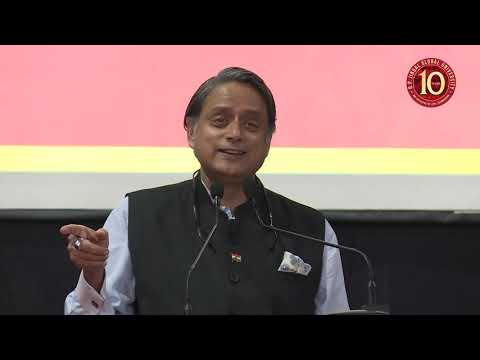 10th Anniversary Jindal Global Lecture Series- Dr. Shashi Tharoor