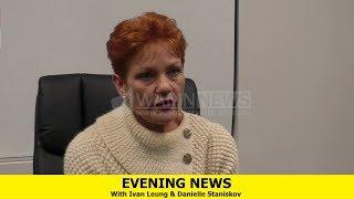 Evening News - [Pauline Hanson Exclusive + Darling Range Vote]