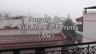 preview picture of video 'Villafranca Tirrena sotto la neve'