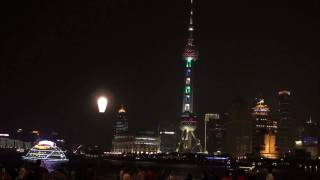 Video : China : Evening on the Bund in ShangHai 上海 (2)