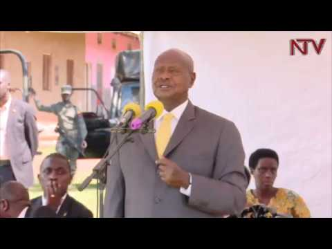 Museveni advises religious institutions to support locally made products
