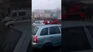 Пожар рынка у цирка  в Воронеже 1000 мелочей