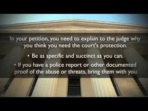How To Get a Restraining Order | Restraining Orders Explained