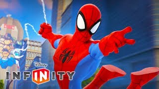 SPIDERMAN Deutsch SPEIDER MÄN Zeichentrick Superheld Spiele Kinder Videos - Disney Infinity 2.0