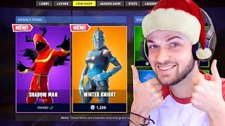 I got a *NEW* CHRISTMAS 2018 Fortnite skin!