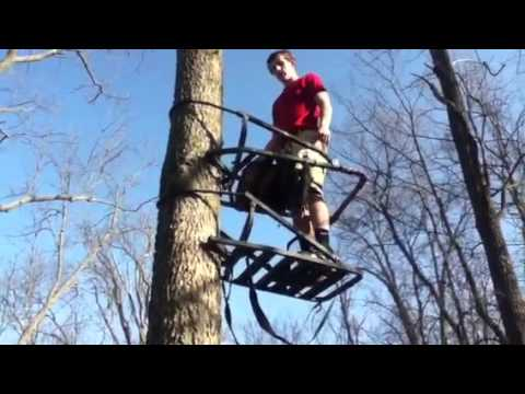 How To Use A Climbing Tree-Stand