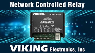 Viking RC-4A Network Relay Controller