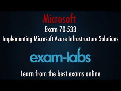 70-533 Microsoft Azure Exam Questions and Answers | www.exam ...