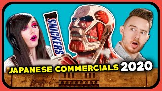 YouTubers React To Best Japanese Commercials