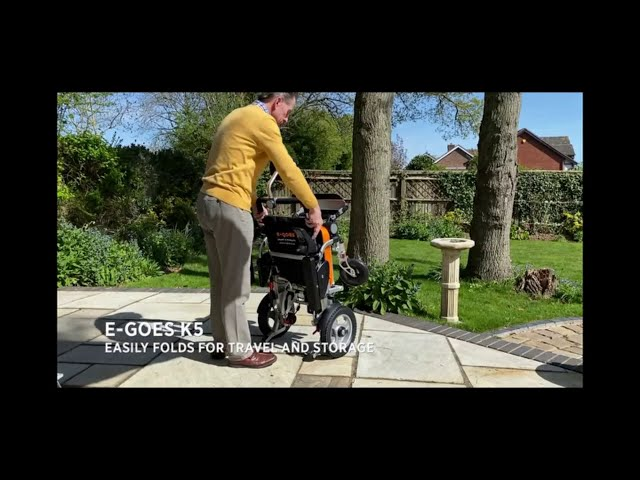 Ultimate Adjustable Folding Powered Chair Video