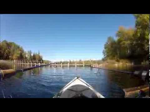 Kayak Fishing – Late Summer on Trout Pond