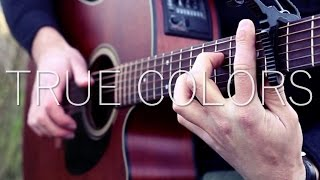 Gambar cover (Justin Timberlake, Anna Kendrick) True Colors - Fingerstyle Guitar Cover (with TABS)