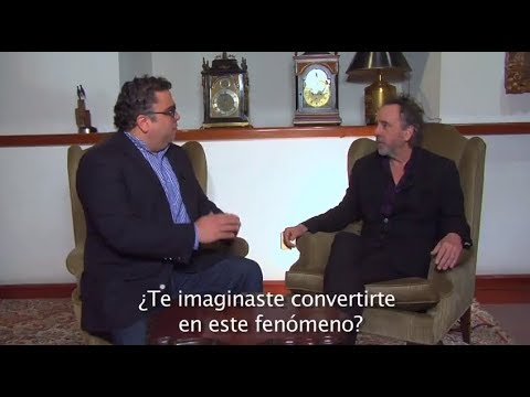 Entrevista a Tim Burton en su visita a México