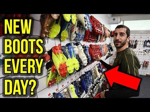 DO PRO FOOTBALLERS ACTUALLY WEAR NEW BOOTS EVERY DAY?
