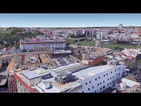 Фото видеогид Обзор на Севилью со спутника