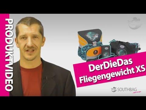DerDieDas Schulranzen Fliegengewicht XS - Produktvideo
