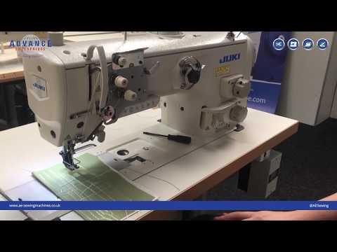 Juki LU2818A-7 Walking Foot Lockstitch Instructional Video :: AE Sewing Machines