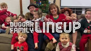 Duggar Family Lineup