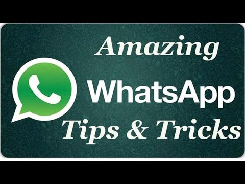 whatsapp Amazing tip's and trick's 2017