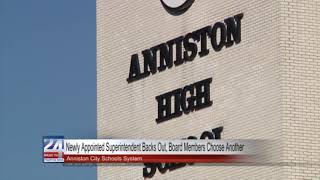 Anniston Board Appoints Superintendent After One Backs Out