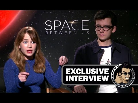 THE SPACE BETWEEN US Exclusive Interview with Britt Robertson & Asa Butterfield