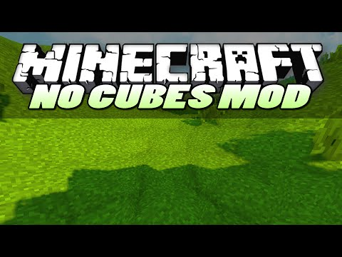 Minecraft Mods | NO CUBES (SMOOTH TERRAIN) | Mod Showcase