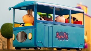 Peppa Pig School Bus ride home
