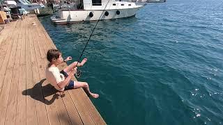 Эгейское море. Яхтинг. Рыбалка. Подводная охота. ЗАТОНУВШИЙ КОРАБЛЬ. Часть 1