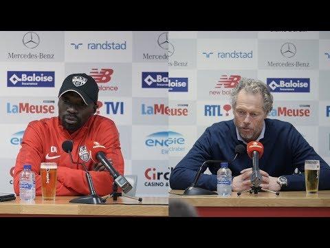 Conférence de presse après Standard - Eupen