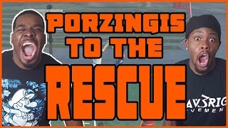 JUICE AND PORZINGIS TO THE RESCUE!! - NBA 2K16 Head to Head Blacktop Gameplay