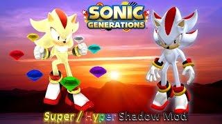 sonic generations hyper sonic vs hyper shadow - TH-Clip