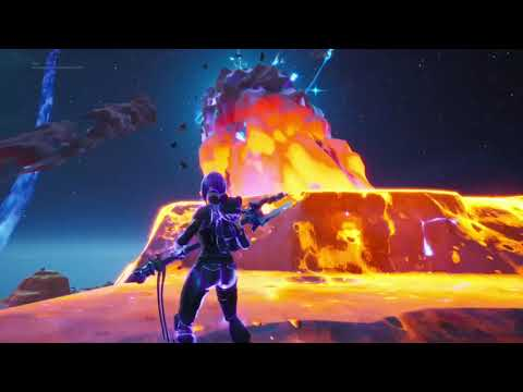 i was on the meteor fortnite end event