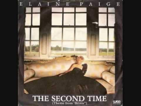 """Elaine Paige - The second time (Theme from """"Bilitis"""")"""